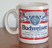 Vintage Anheuser Busch BUDWEISER BEER Official Product Mug Cup Coffee Tea Cocoa in Shorewood, Illinois