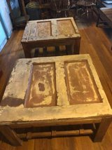 MORE FOR LESS!!!! Awesome 4 piece solid wood rustic set! in Fort Bliss, Texas