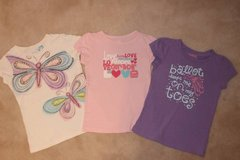 girls t-shirts OshKosh and The Children's Place tee bundle (size 5T) in Fairfax, Virginia