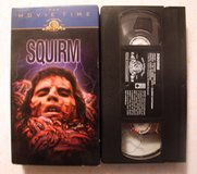 Vintage 1976 Squirm Worm Horror Video VHS Don Scardino, Patricia Pearcy Halloween in Morris, Illinois