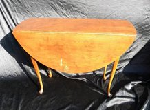 Orig. 18th Cent. Queen Anne folding leaf table in Camp Lejeune, North Carolina