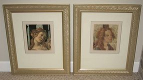 ART - 2 Beautiful Professionally Framed & Matted Venus Prints in Naperville, Illinois