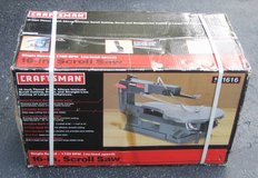 CRAFTSMAN Single Speed Scroll Saw - NEW IN BOX in Joliet, Illinois