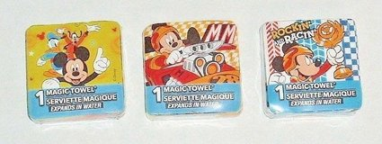 **NEW** Disney Mickey Mouse Magic Towel Wash Face Cloth Goofy Donald Duck in Morris, Illinois