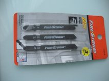 black & decker jig saw blades 24tpi firestorm 3 pack in Plainfield, Illinois