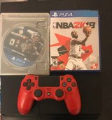 Playstation 4 (PS4) w/ 2 games and controller in Fort Belvoir, Virginia