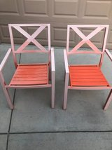 Set of 2 Vintage Metal Patio Chairs in Vacaville, California