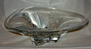 Orrefors Crystal Center Piece Bowl 12 3/4 inches in Chicago, Illinois
