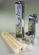 Lenox 3 piece Candle Stick Set - Spyro pattern in Cary, North Carolina