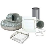 "Everbilt 4"" x 8' Dryer Vent Kit with Guard in Lockport, Illinois"