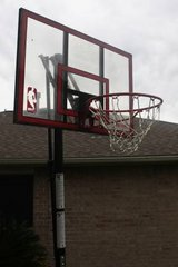 Spalding NBA Portable Basketball Hoop with  Backboard in Spring, Texas