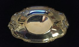 Vintage International Silver Company silverplate nut or candy dish in Quantico, Virginia