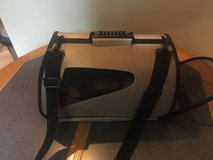 Pet carrier with handle and screened sides, back and front in Quantico, Virginia