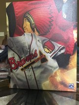Atlanta Braves Cooperstown Collection 13.5 x 10.5 wall hanging on canvas in Quantico, Virginia