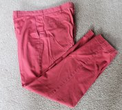 POLO by Ralph Lauren Preston Pants, Red Chambray, Flat Front, 35x32 in Lockport, Illinois