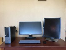 Dell business class, dual monitor in Fort Campbell, Kentucky