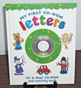 NEW Rare Early Learning My First CD-Rom LETTERS PC Mac Activity Book Educational A B C's in Chicago, Illinois