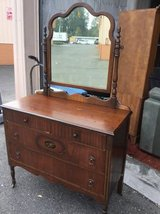 Fantastic Vintage Dresser and Mirror  - Delivery Available in Fort Lewis, Washington