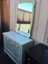 Very Nice French Provincial Dresser and Mirror - Delivery Available in Fort Lewis, Washington