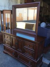 Beautiful Black Cherry Buffet / Lowboy Dresser - Delivery Available in Fort Lewis, Washington