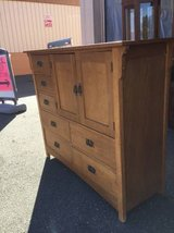 Nice Solid Wood Highboy Dresser / Gentleman's Chest-Delivery Available in Fort Lewis, Washington