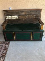 MAGNIFICENT bench with storage - made from vintage cedar dresser in Fort Bliss, Texas