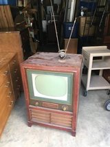 Vintage 1950's RCA TV in Fort Benning, Georgia