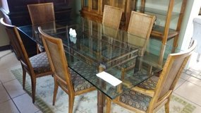 Large Square Glass Table in Kansas City, Missouri