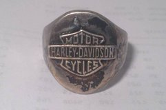 Harley Davidson 17 grams 925 Sterling silver ring Size 11 in Dover, Tennessee