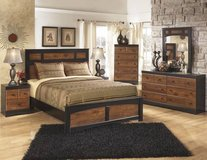 Signature Design  6 PC. BEDROOM SET in Honolulu, Hawaii