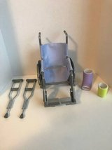 AMERICAN GIRL WHEELCHAIR GET WELL SET in Morris, Illinois