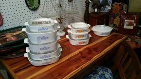 Pyrex set Cornflower & Homestead Patterns in Byron, Georgia