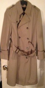 Botany 500 Double Breasted Trench Business Coat w Deep Pile removable in Dover, Tennessee