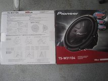 2) Pioneer 12 Inch 2800W Subwoofers Car Audio 4-Ohm DVC Subs Pair in Fort Rucker, Alabama