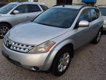 07 Nissan Murano 5-Passenger SUV, V6 Automatic AWD 4 New Tires 102k Mi in Cherry Point, North Carolina