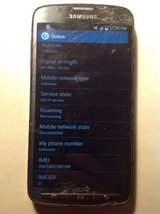 samsung galaxy s4 active sgh-i537 - 16gb - blue (att) smartphone in Yucca Valley, California