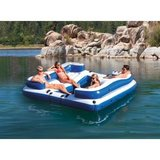 Intex Oasis Island Inflatable 5-Seater Lake/River Floating Lounge Raft in Joliet, Illinois