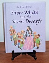 RARE The Grimm Brothers Snow White and the Seven Dwarfs Hard Cover Book in Shorewood, Illinois