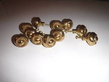 Dresser Drawer Cabinet Knobs Gold Tone - 11 total in CyFair, Texas