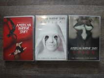 American Horror Story DVD Season 1, 2 and 3 - Mint Condition in The Woodlands, Texas