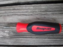 """Snap On Tools 1/4"""" Drive SGT4B InstinctSoft Grip Standard Shank Driver in The Woodlands, Texas"""
