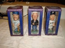 2001 Pepsi Bob Uecker Robin Yount Geoff Jenkins Brewers Bobbleheads in Brookfield, Wisconsin