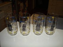 Authentic Milwaukee Brewers McDonalds Set of 4 1982 Glasses Robin Yount Ben Oglivie in Brookfield, Wisconsin