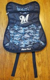 Milwaukee Brewers 2016 KIDS SGA Chest Protector Backpack Camouflage in Brookfield, Wisconsin