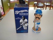 Authentic 2004 GORMAN THOMAS Milwaukee Brewers Bobble Head New in Box in Brookfield, Wisconsin
