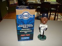 Rare 2003 JEFFREY HAMMONDS #41 Milwaukee Brewers Bobble Bobblehead SGA in Brookfield, Wisconsin