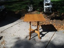 HARD WOOD SQUARE TABLE in Orland Park, Illinois