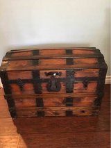 Dome Top Wooden Trunk in San Diego, California