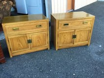 Set of Honey Oak Thomasville  Nightstands - Delivery Available in Tacoma, Washington