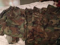 Woodland Camo Army sets pant and shirts HALLOWEEN in Dover, Tennessee